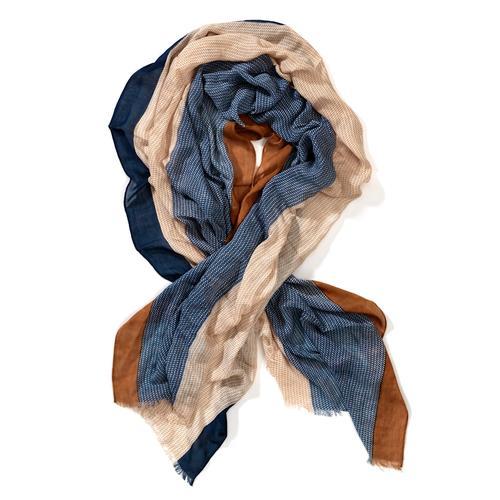 Alba Moda, Schal in weicher Qualität, blau