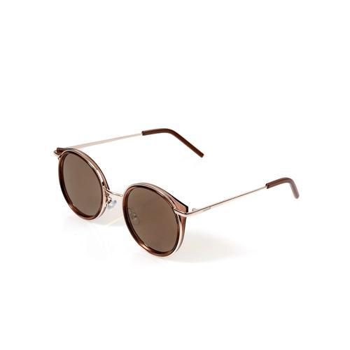 Alba Moda, Sonnenbrille mit Vollrandfassung, rosé