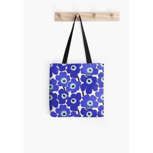 Marimekko blau Tasche