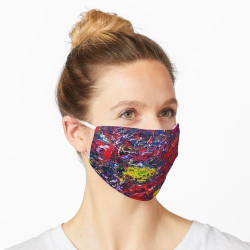 Rote Verwirrung Maske