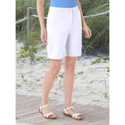 Women's Dennisport Classic Shorts, White 18 Misses