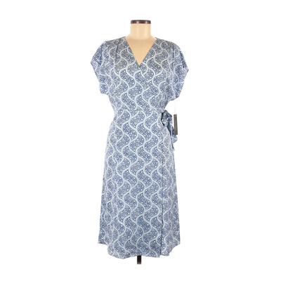 Nordstrom Casual Dress - A-Line: Blue Paisley Dresses - Used - Size 8