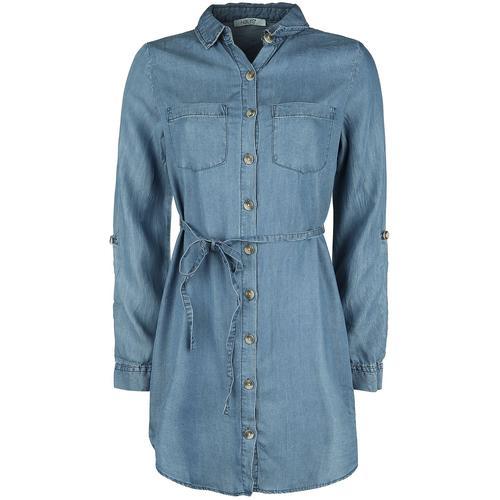 Hailys Manja Damen-Bluse - blau