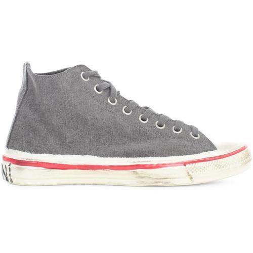 Marni Leinwand-Sneaker
