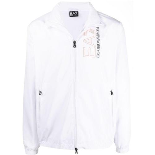 EA7 Leichte Jacke mit Logo-Print