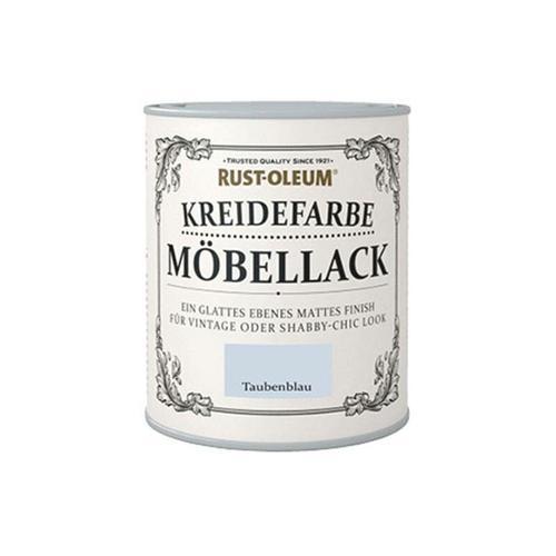 Kreidefarbe Möbellack 750ml Taubenblau - size please select - color Taubenblau - Taubenblau