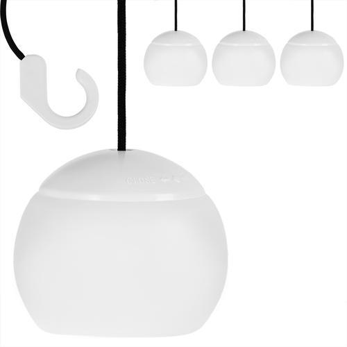 Monzana LED Campinglampe Hängelampe Sonnenschirmleuchte