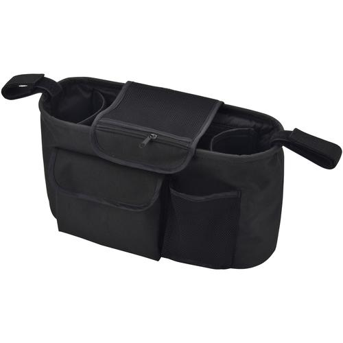 BabyGo Rücksitzorganizer, für Kinderwagen und Autositze schwarz Auto-Aufbewahrung Autozubehör Reifen Rücksitzorganizer