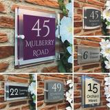 Numéro de maison moderne, bricol...