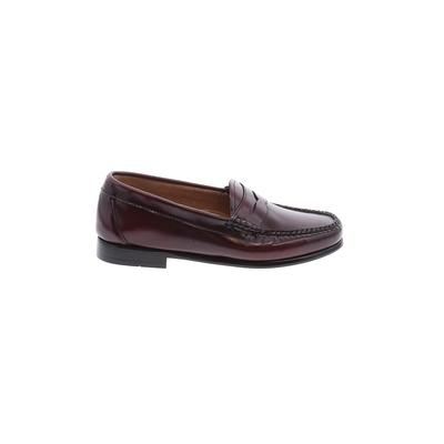 Weejuns Flats: Burgundy Solid Shoes - Size 7