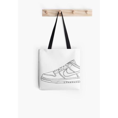 SB Dunk Sketch Sneaker Kunst Tasche
