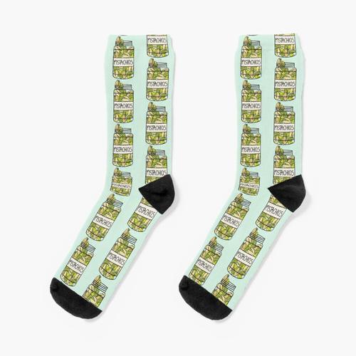 Süße Pistazien Socken