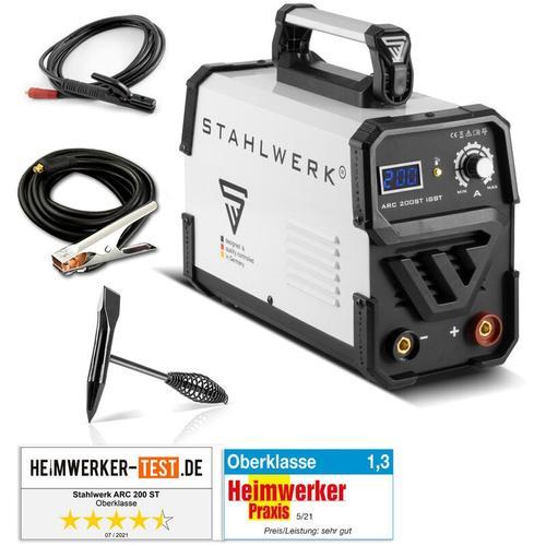 Schweißgerät ARC 200 ST IGBT - DC MMA / E-Hand Welder mit 200 Ampere, kompakt, 7 Jahre Garantie*