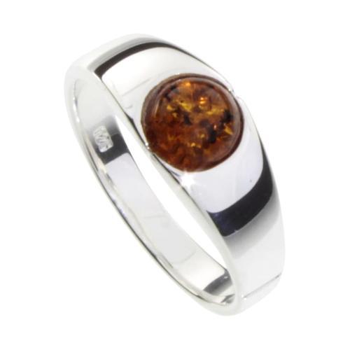 Ring - Sina Silber 925/000 Bernstein OSTSEE-SCHMUCK silber