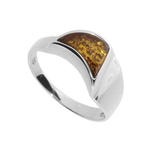 Ring - Alea Silber 925/000 Bernstein OSTSEE-SCHMUCK silber