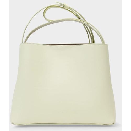 Aesther Ekme Mini Handtasche aus gelbem Leder