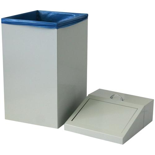 Szagato Mülleimer, 45 l grau Küche Ordnung Mülleimer