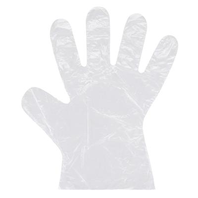 STRONG Manufacturers 74015 Disposable Poly Gloves - Clear, X-Large