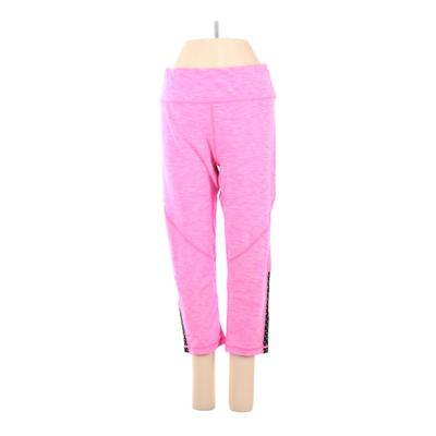 R8 Activewear Active Pants - Mid/Reg Rise: Pink Activewear - Size Large