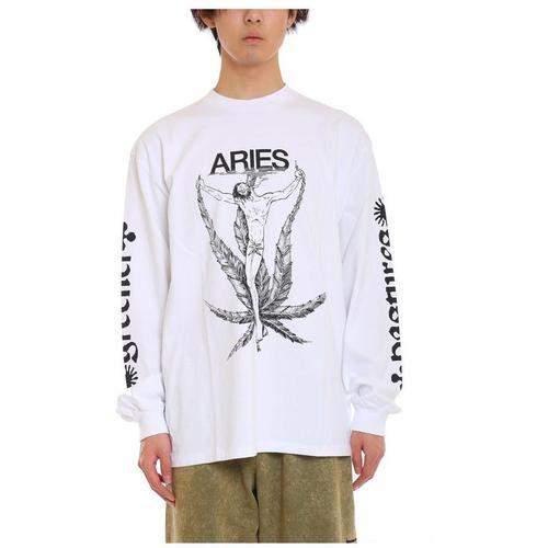 Aries Weed Jesus Tee