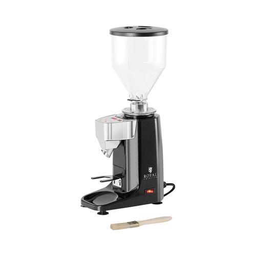 Royal Catering Kaffeemühle - 200 W- 1000 ml- Kunststoff - schwarz - LED RC-CGM21