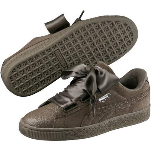 Puma Damen Sneaker Suede Heart Bubble Wn, Größe 38 in BUNGEE CORD-BUNGEE CORD
