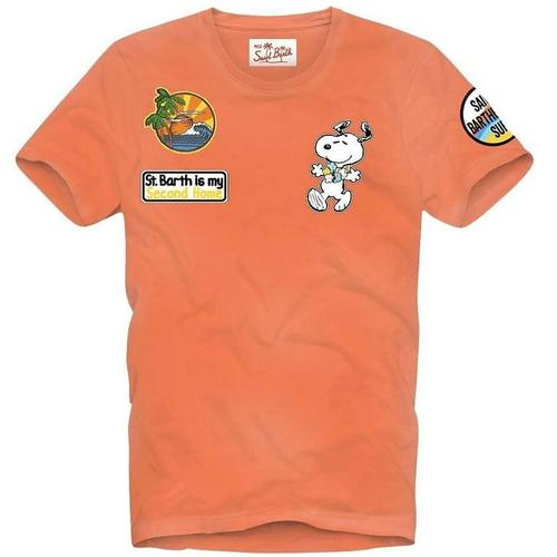 Mc2 Saint Barth T-Shirt Snoopy Aloha