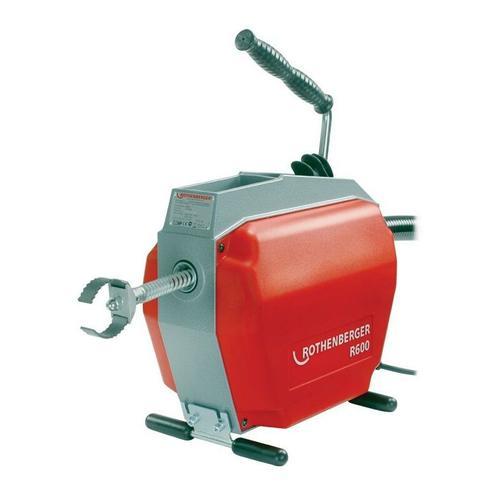 ROTHENBERGER Rohrreinigungsmaschine Rohrreinigungsmaschine R 600 230 / 50 V / Hz 467 min-¹ 690 W