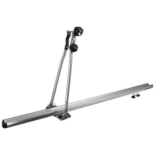 EUFAB Dachfahrradträger ALU STAR, Aluminium/Stahl silberfarben Fahrradträger Autozubehör Reifen