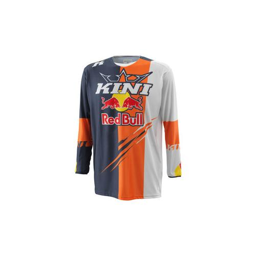 Kini Red Bull Competition Jersey grau XXXL