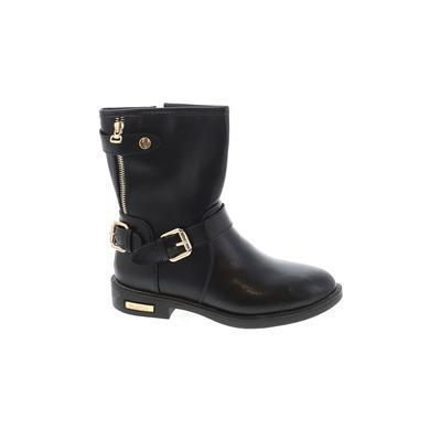 Fashion - Fashion Boots: Black Solid Shoes - Size 6