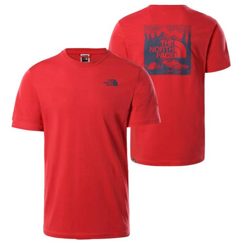The North Face - S/S Redbox Celebration Tee - T-Shirt Gr XL rot