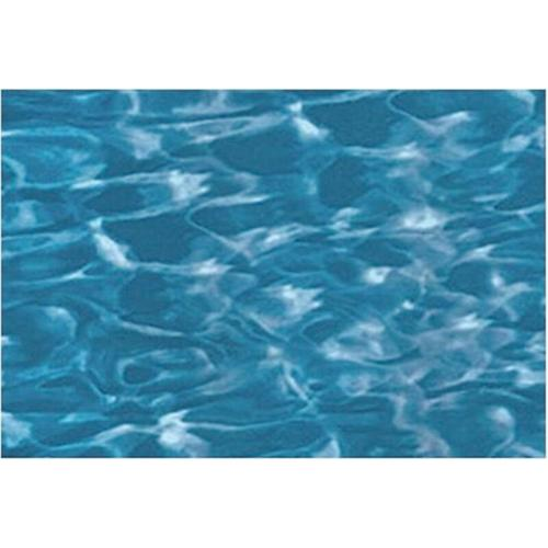 Pool Folie oval 3,70m x 5,50m x 1,20m Folie 0,3mm swirl Überlappung Pool Poolfolie Ovalpool / 370 x