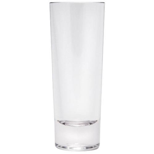 Q Squared NYC Schnapsglas, (Set, 12 tlg., x Gläser), Polycarbonat, 12-teilig farblos Spirituosengläser Gläser Glaswaren Haushaltswaren Schnapsglas