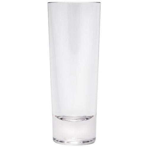 Q Squared NYC Schnapsglas, (Set, 12 tlg., x Gläser), Polycarbonat farblos Spirituosengläser Gläser Glaswaren Haushaltswaren Schnapsglas
