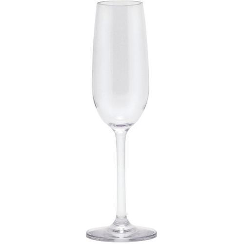 Q Squared NYC Sektglas, (Set, 6 tlg., x Gläser), Polycarbonat, 100 ml, 6-teilig farblos Sektgläser Champagnergläser Gläser Glaswaren Haushaltswaren Sektglas