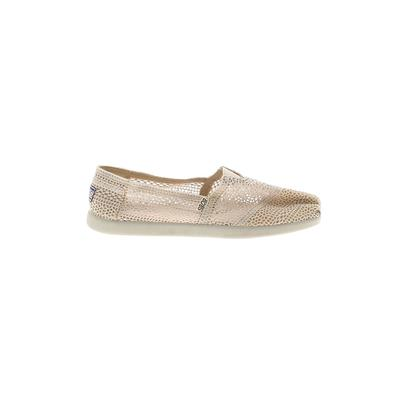 BOBS By Skechers Flats: Ivory Solid Shoes - Size 11