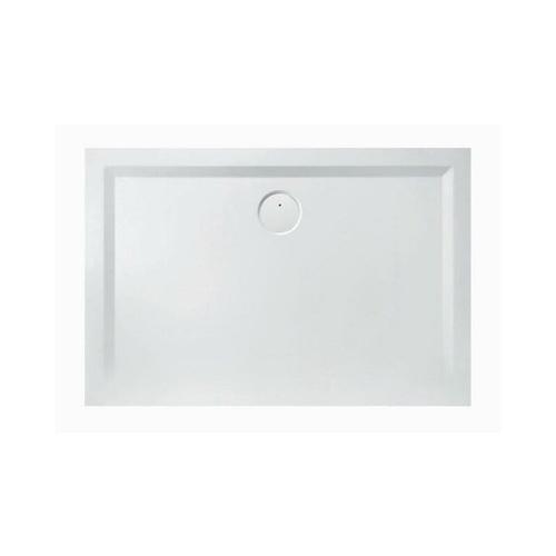 Mineralguss-Duschwanne Mineralguss-Duschwanne MUNA 1100 x 900 x 30 mm weiß - Hoesch