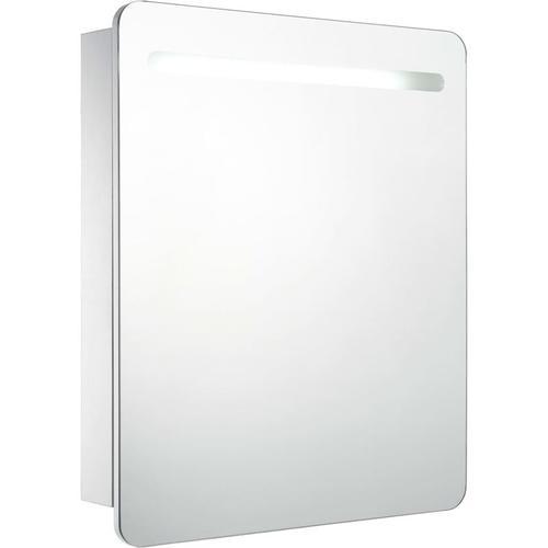 LED-Bad-Spiegelschrank 68 x 9 x 80 cm