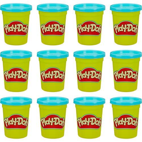 Hasbro Kneten Play-Doh 12er-Pack mit blauer Spielknete