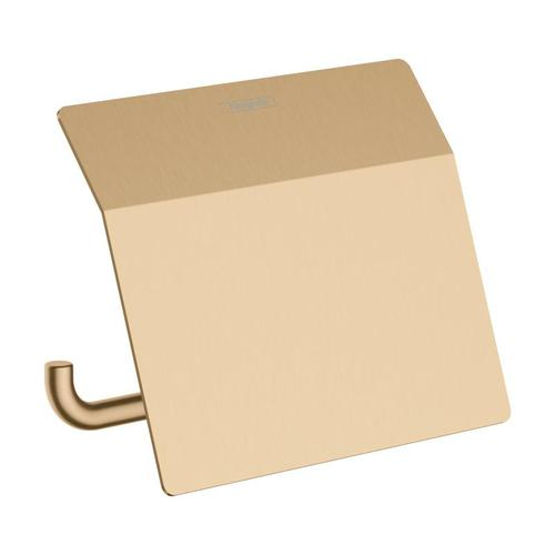 Hansgrohe AddStoris Toilettenpapierhalter mit Deckel B: 153 H: 86 T: 116 mm bronze gebürstet 41753140