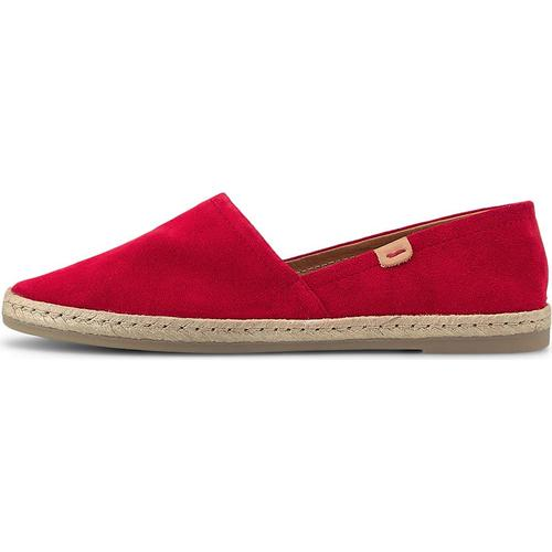 COX, Espadrille in rot, Espadrilles für Damen Gr. 41