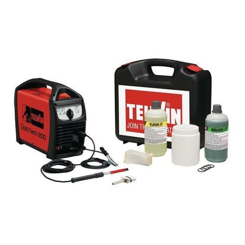 Schweißnahtreiniger Schweißnahtreiniger Cleantech 200 Set 230 V50/60 Hz IP 21 - Telwin