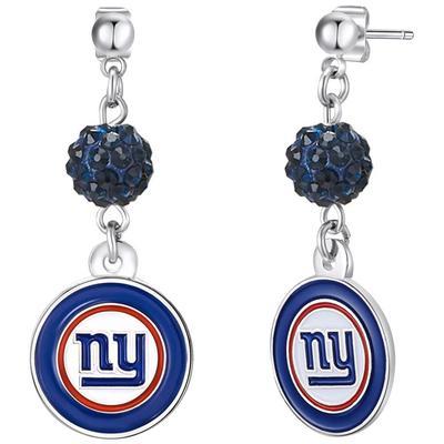 Women's New York Giants Shambala Post Earrings