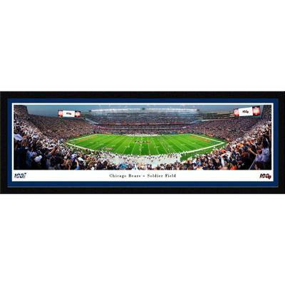 Chicago Bears 42'' x 15.5'' Select Framed Panorama