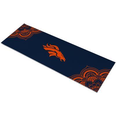 Denver Broncos 72'' Color Design Yoga Mat