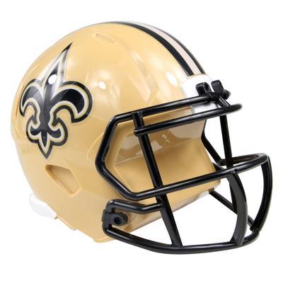 "New Orleans Saints FOCO 6"" Helmet Bank"