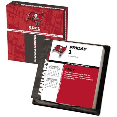 Tampa Bay Buccaneers 2021 Box Calendar