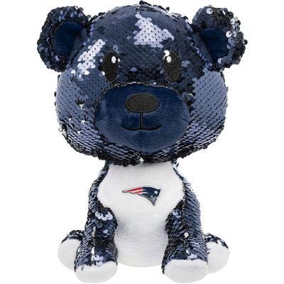 New England Patriots FOCO Sequin Plush Bear