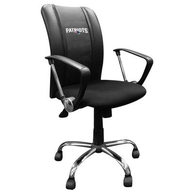 New England Patriots Curve Task Office Chair